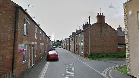 Prince Street in Wisbech where a kitchen fire broke out on Wednesday, September 4. Picture: Google M