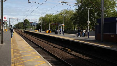 Stevenage Train Station. Picture: Harry Hubbard.