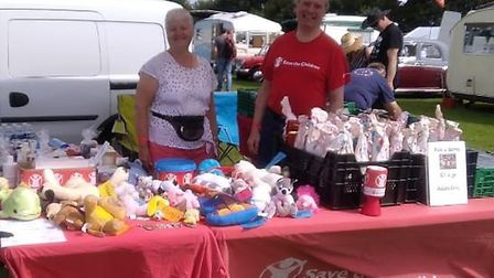 The Wisbech branch of Save the Children have raised more than £1,500 so far this year by holding a n