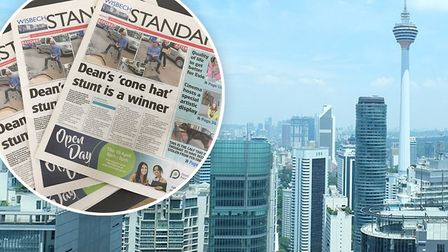 Wisbech Standard reader Mr Raj J.Money from Malaysia would like to get back in touch with his Fenlan