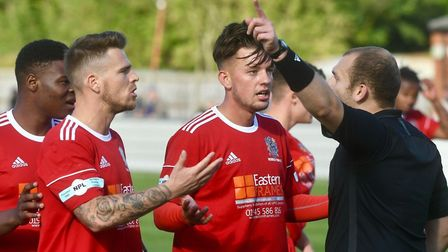 Wisbech Town lost 1-2 to Southern League Premier Central side Hitchin Town in their FA Cup First Rou