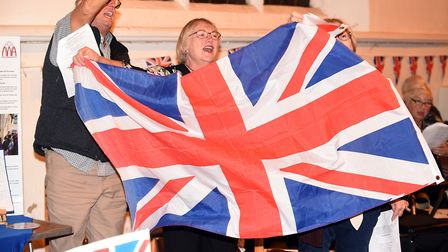 The seventh annual Last Night of the Proms event held at the Church of St Peter and St Paul in Wisbe