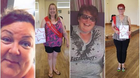 Slimmers Sharon Craig and Teresa Woollard have lost more than 11 stone combined and have been crowne
