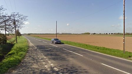 Sutton Road in Wisbech where a large deliberate fire was started on Sunday, September 15. Picture: G