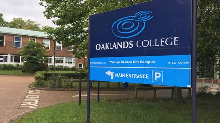 Oaklands College's Welwyn Garden City campus. Picture: Nick Gill