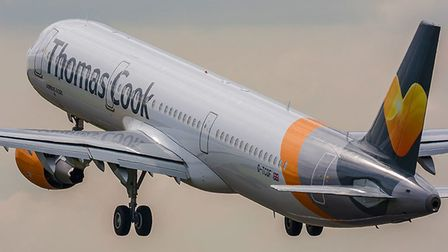 Thomas Cook ceased trading in the early hours of this morning. Picture: PA