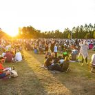Enjoying a picnic as the sun sets at Classic Ibiza 2019 at Hatfield House. Tickets have gone on sale