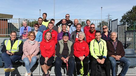 Fenland RC members at the Round Norfolk Relay (pic Tim Chapman/Jay Gilbert/Joanne Clarke)