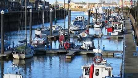 Wisbech yacht harbour, scene of recent break-ins. Fenland Council that runs the harbour has promised