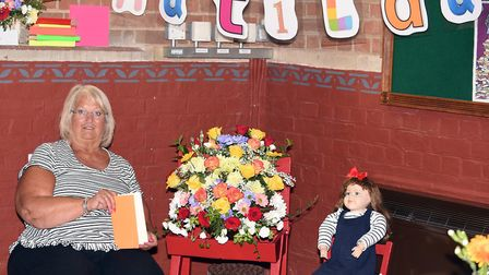 Parson Drove flower festival attracted a steady number of visitors over the weekend. Carol Summers i