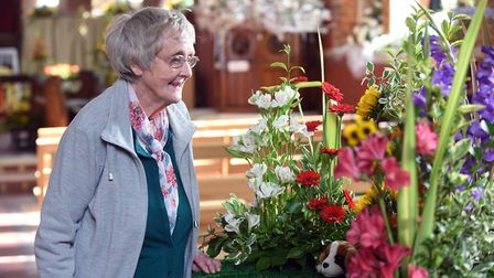Parson Drove flower festival attracted a steady number of visitors over the weekend. It was the thir