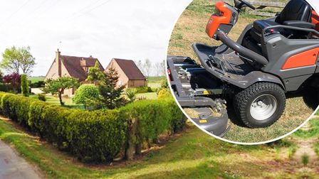Two lawn mowers worth almost 30,000 have been stolen from a home near Wisbech. Picture: Supplied/Goo