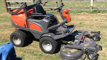 Two lawn mowers worth almost £30,000 have been stolen from a home near Wisbech. Picture: Twitter/@Fe