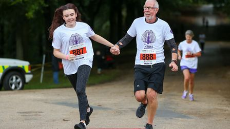 The Willow 10K run at Hatfield House. Picture: DANNY LOO
