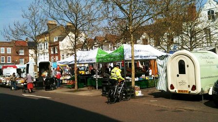 Wisbech market in full swing. Now a new report has made recommendations about changes that it feels