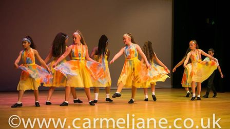 Welwyn Garden City-based Dance-Beat performers at a stage show in July. Picture: Carmel Jane