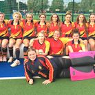 Wisbech Grammar1st X1 U18 girls (pictured) were crowned county champions at the Tier 4 County Finals