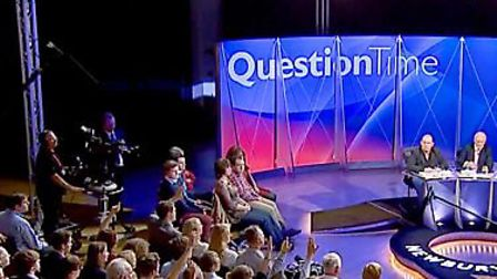 The BBC Question Time episode with MP Grant Shapps airs tonight. Picture: BBC.