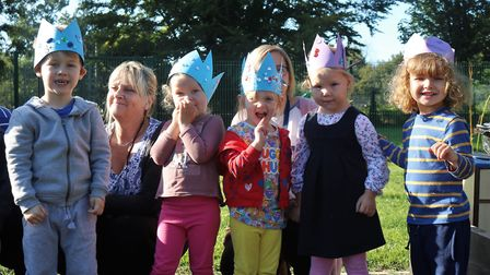 Cinderella, you shall go to the school! The grand fairytale opening of the Peckover pre-school near