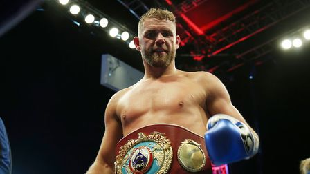 Billy Joe Saunders will defend his WBO super-middleweight title on the KSI v Logan Paul II show in L