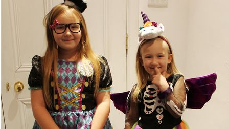 Spooky event set to take place at Wisbech Museum. These children dressed up for the fun last year. P