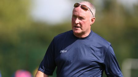 Manager of Welwyn Garden City Nick Ironton during Welwyn Garden City vs Wantage Town, BetVictor Sout