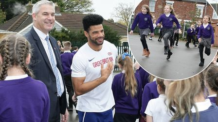 Nene and Ramnoth School is urging more in the county to take on The Daily Mile challenge. Picture: H