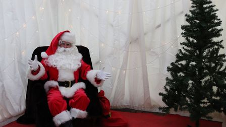 Santa will be in his grotto at the Christmas Lights switch-on events in Hatfield and Welwyn Garden C