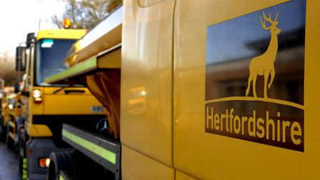 Herts gritters. Picture: Supplied.