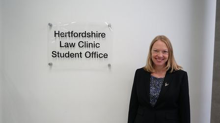 Diana Kirsch, director of Pro-Bono at Herts Uni. Picture: University of Hertfordshire.