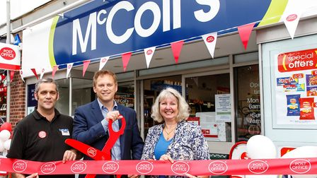 It's not the first Post Office to be based in a McColls Store in Welwyn Garden City. Picture: Stuart