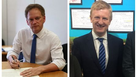 Grant Shapps and Oliver Dowden are in favour of a deal. Picture: Supplied.