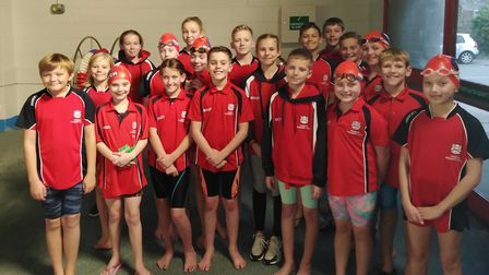 The successful Wisbech Swimming Club squad. Picture: ALISON WHITTAKER