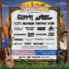 Slam Dunk Festival 2020 second line-up poster with co-headliners Sum 41 added to the bill