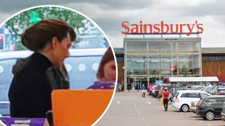 The Duchess of Cambridge, Kate Middleton, was spotted by a Norfolk mum shopping in Sainsburys superm