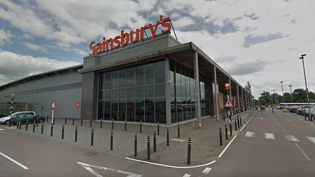 Kate Middleton was spotted at this Sainsbury's supermarket in King's Lynn. Picture: Google Maps