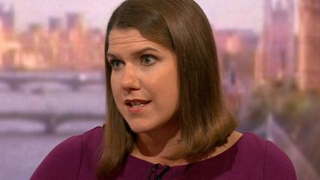 Liberal Democrat leader Jo Swinson speaking on the BBC's Andrew Marr Show (Pic: BBC)