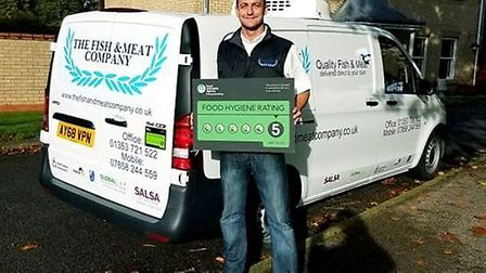 Soham-based Fish and Meat Company have received a 5 star food hygiene rating from East Cambridgeshir