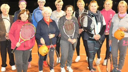 Wisbech Tennis Club held a ladies tournament which saw the players compete in pairs. Jane and Paulin
