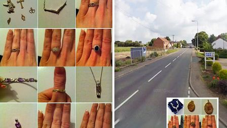 Fen couple are offering 5,000 reward to help find unique jewellery taken from their home in a burgla