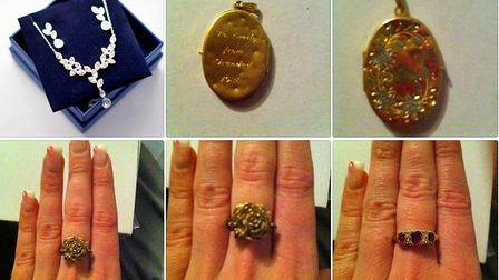 Fen couple are offering £5,000 reward to help find 'unique jewellery' taken from their home in a bur