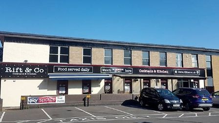 The Case, later known as The Rift Bar, now become three shops if planners agree. The Wisbech pub say