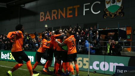 Barnet reached the fourth round last year when they took Championship side Brentford to a replay. Pi