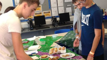 Meadowgate Academy's Sixth Form raised £325 for charity by holding a Macmillan coffee morning. Pict