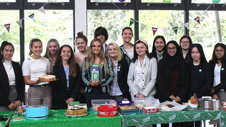 Sixth formers at Wisbech Grammar School raised £387.70 for charity by organising and holding a Macmi