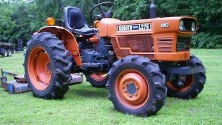 A Kubota L275 tractor along with farming equipment was stolen from a property in Walpole St Andrew.