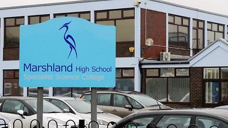 A large silver car has reportedly approached pupils from Marshland High School near Wisbech and aske