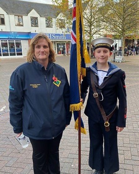 Wisbech Sea Cadet Luke Hayes (pictured) has the potential of becoming an Olympian after being head-h
