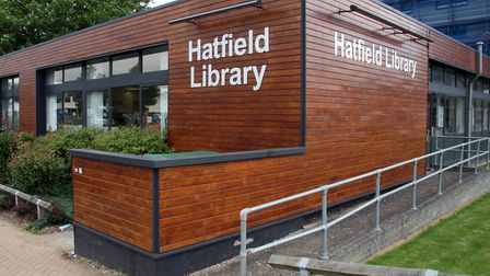 Hatfield library at its old Queensway location. Picture: Kevin Lines.