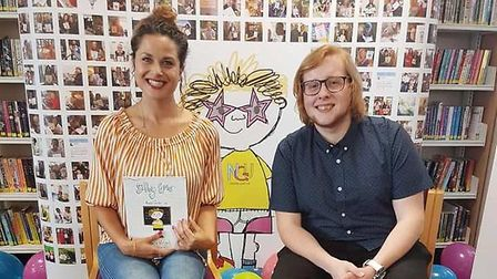 A Fenland illustrator has teamed up with an award-winning author to launch a fundraising appeal to g